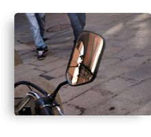 Street Reflections Metal Print