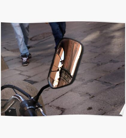 Street Reflections Poster