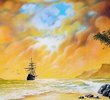 The sea, timeless inspiring. by Comonian