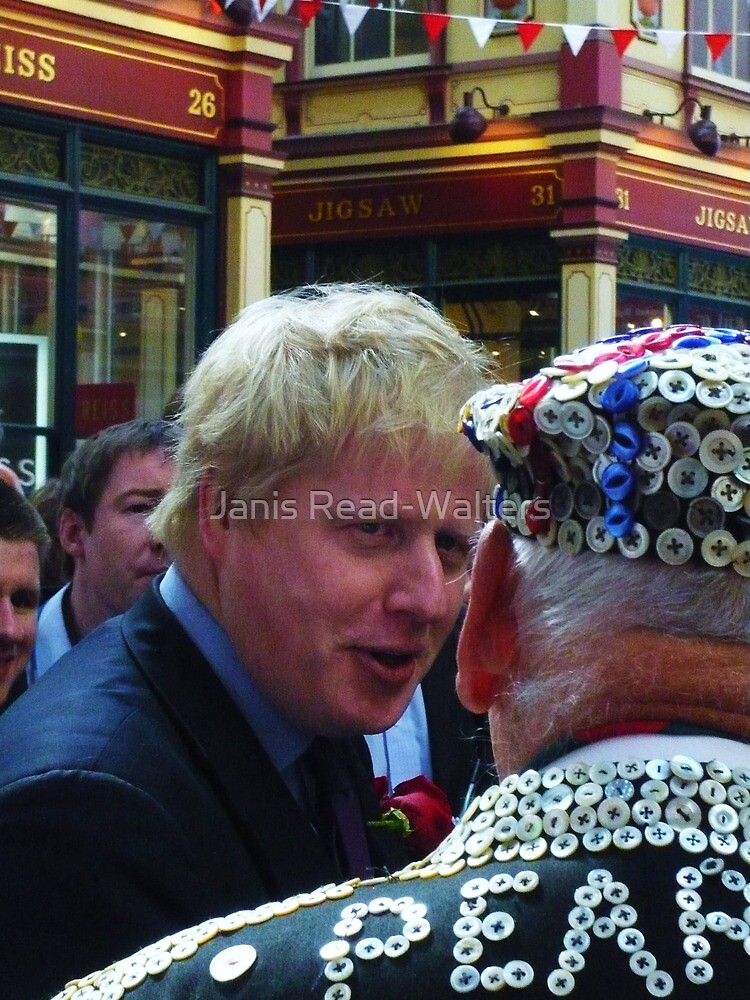 Boris and the Pearly King by Janis Read-Walters