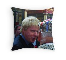 Boris and the Pearly King Throw Pillow