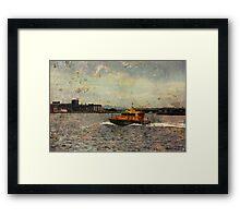City Of Industry Framed Print