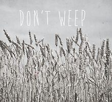 Don't Weep by Denise Abé