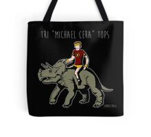 "Tri ""Michael Cera"" tops Tote Bag"