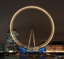 London Eye by Dan Treasure