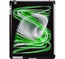 Twisted 1 Green iPad Case/Skin