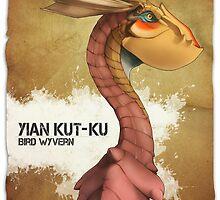 Yain Kut Ku - Bird Wyvern by Lawrence-Lore
