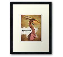 Yain Kut Ku - Bird Wyvern Framed Print