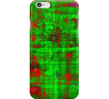 Red On Green.........................Most Products iPhone Case/Skin