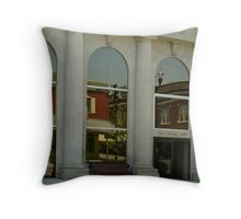 Reflections of a Hometown Throw Pillow