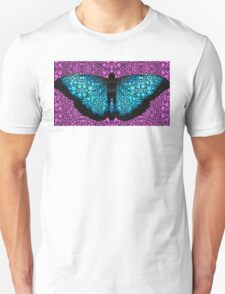 Stone Rock'd Butterfly 2 By Sharon Cummings T-Shirt