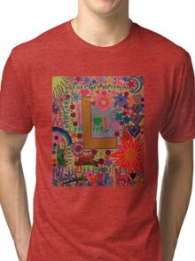 Initial L Tri-blend T-Shirt