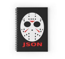 JSON Spiral Notebook