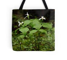 Tri-Foliated Bouquet of the Deep Wood Tote Bag
