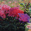 Rosy Glow by Karen Ilari