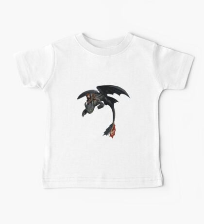 Toothless and Hiccup Baby Tee