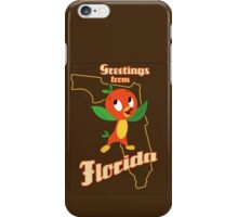 Greetings from Florida iPhone Case/Skin