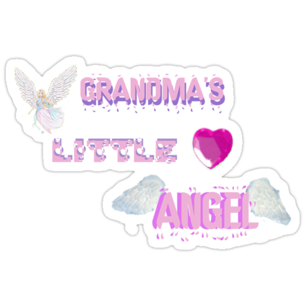 Grandma's Little Angel Tshirt by judygal