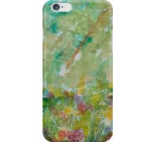 Garden Abstract One iPhone Case/Skin