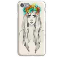 Flower Queen iPhone Case/Skin