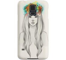 Flower Queen Samsung Galaxy Case/Skin
