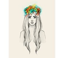 Flower Queen Photographic Print
