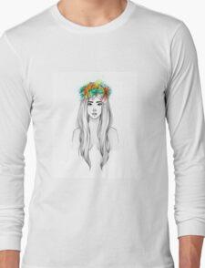 Flower Queen Long Sleeve T-Shirt