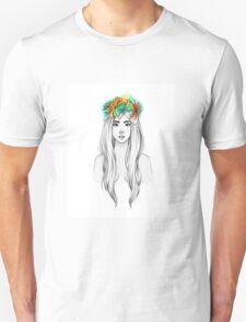 Flower Queen Unisex T-Shirt