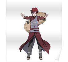 Gaara - Naruto Shippuden Poster