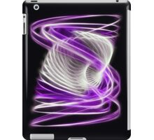 Twisted 1 Purple iPad Case/Skin