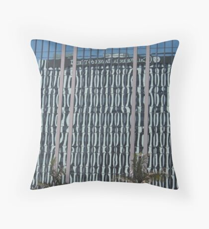 Building Reflections...  Throw Pillow
