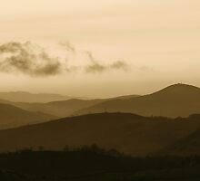 Waiting the West (panoramic) by Gillou