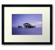 Eerie Beauty Framed Print