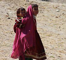 Sisters (Afghanistan) by Antanas