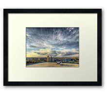 Edmonton From the Roof Framed Print