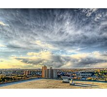 Edmonton From the Roof Photographic Print