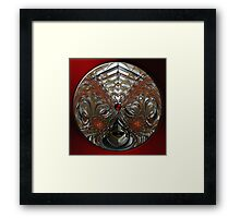 ©DA FS Orange Wave IA2D 360. Framed Print