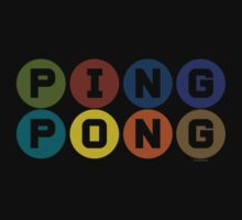 ping pong Kids Clothes