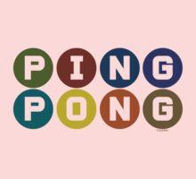 ping pong Baby Tee