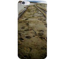 Sand Tyre Tracks - Portstewart Strand iPhone Case/Skin