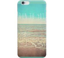 Run To You iPhone Case/Skin