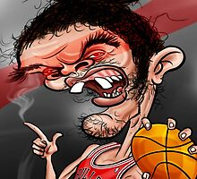 Joakim Noah by Tomajestic