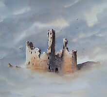 Dunstanburgh Castle, Northumberland, England by JoeHush