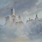 Warkworth Castle, Northumberland, England by JoeHush