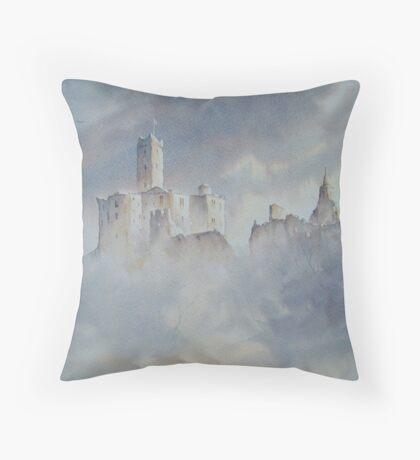 Warkworth Castle, Northumberland, England Throw Pillow