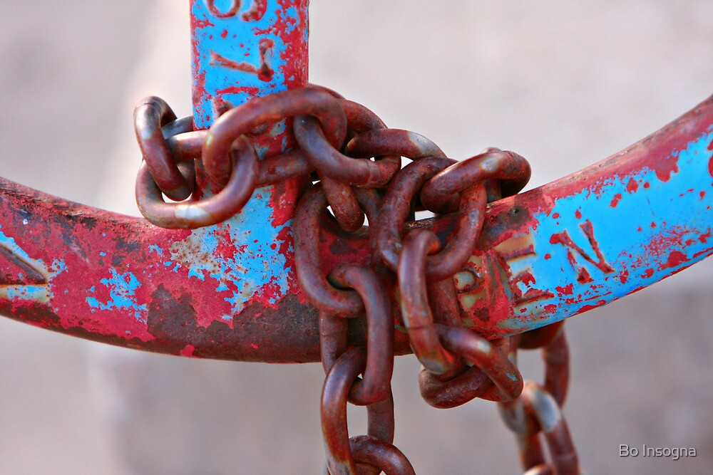 Rusty Chain by Bo Insogna