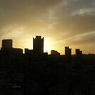 Golden Sky by Omar Al Nimer