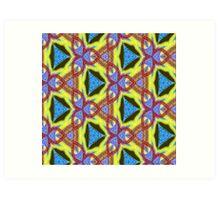 ( AFZAL )   ERIC WHITEMAN  ART  Art Print