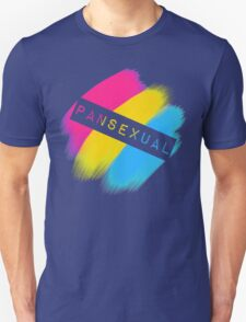 Pansexual Stripes Unisex T-Shirt
