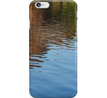 Reflecting on Autumn  iPhone Case/Skin